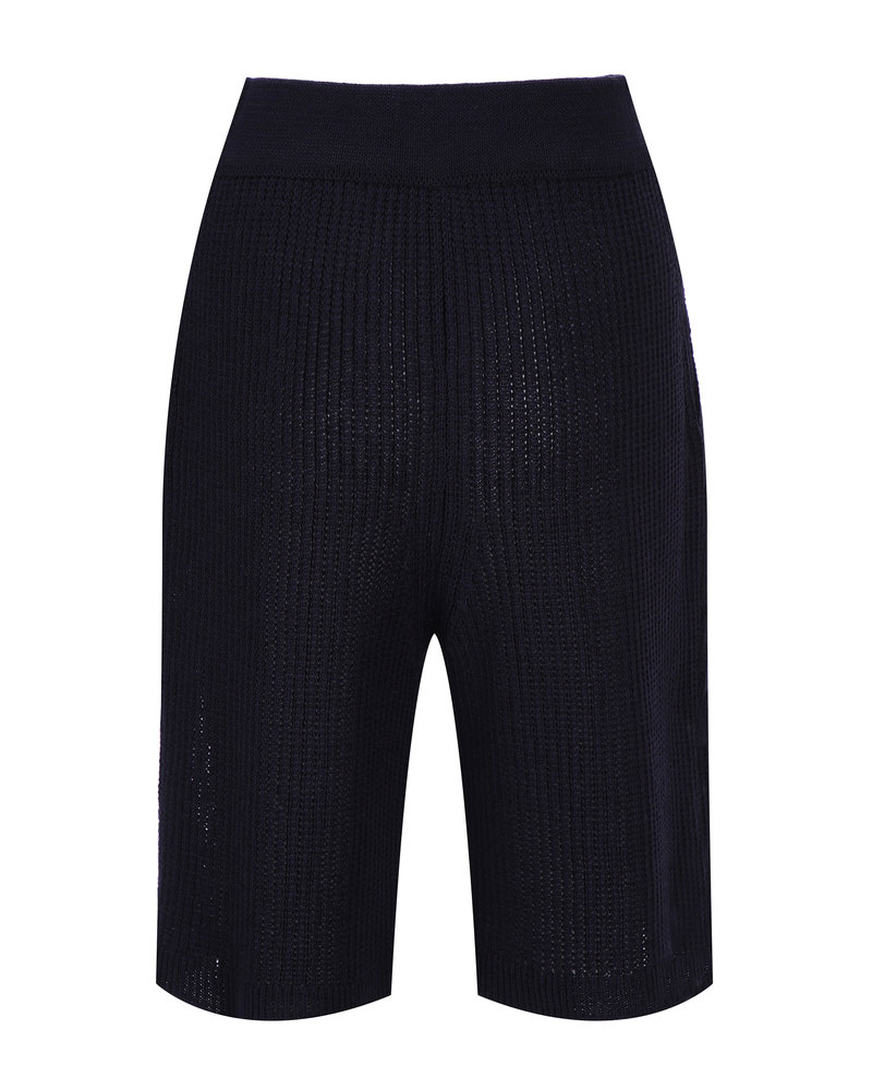 Le 17 Septembre Short knit Pants - Navy