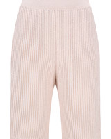 Le 17 Septembre Short knit Pants - Beige