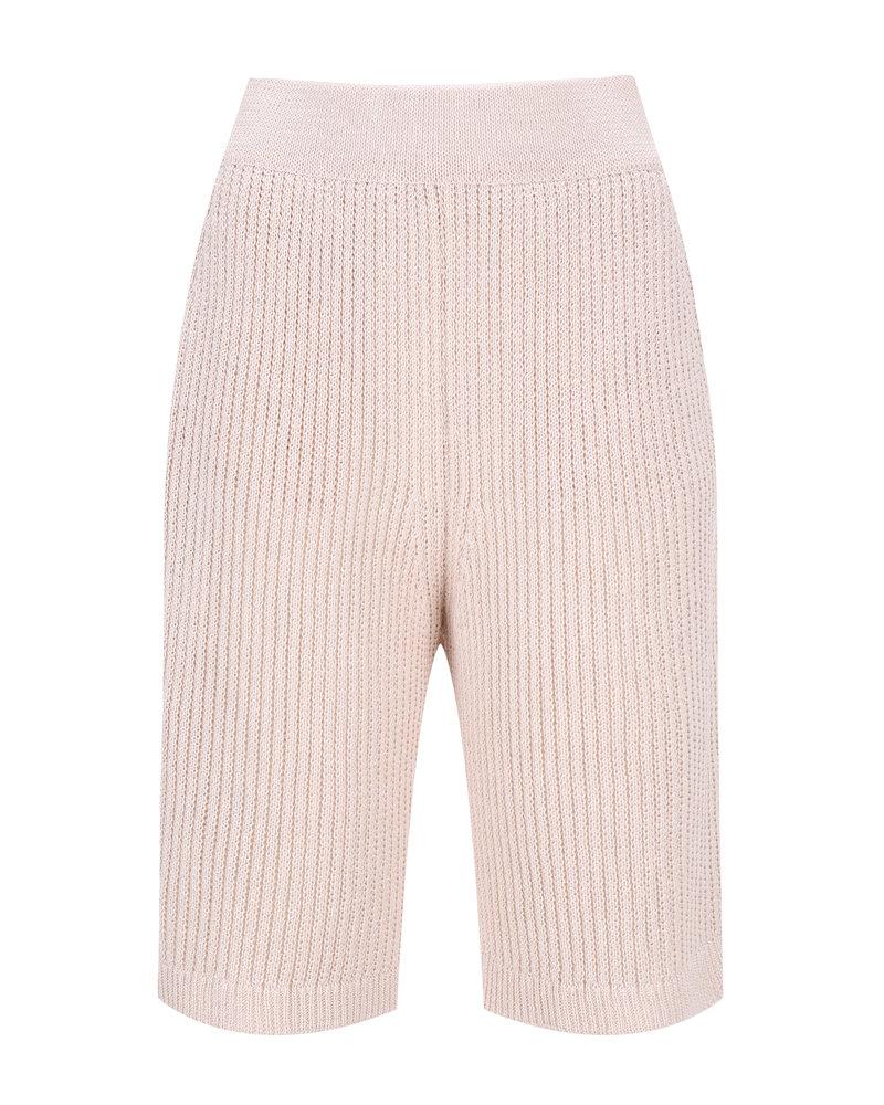 Le 17 Septembre Short knit Pants - Beige