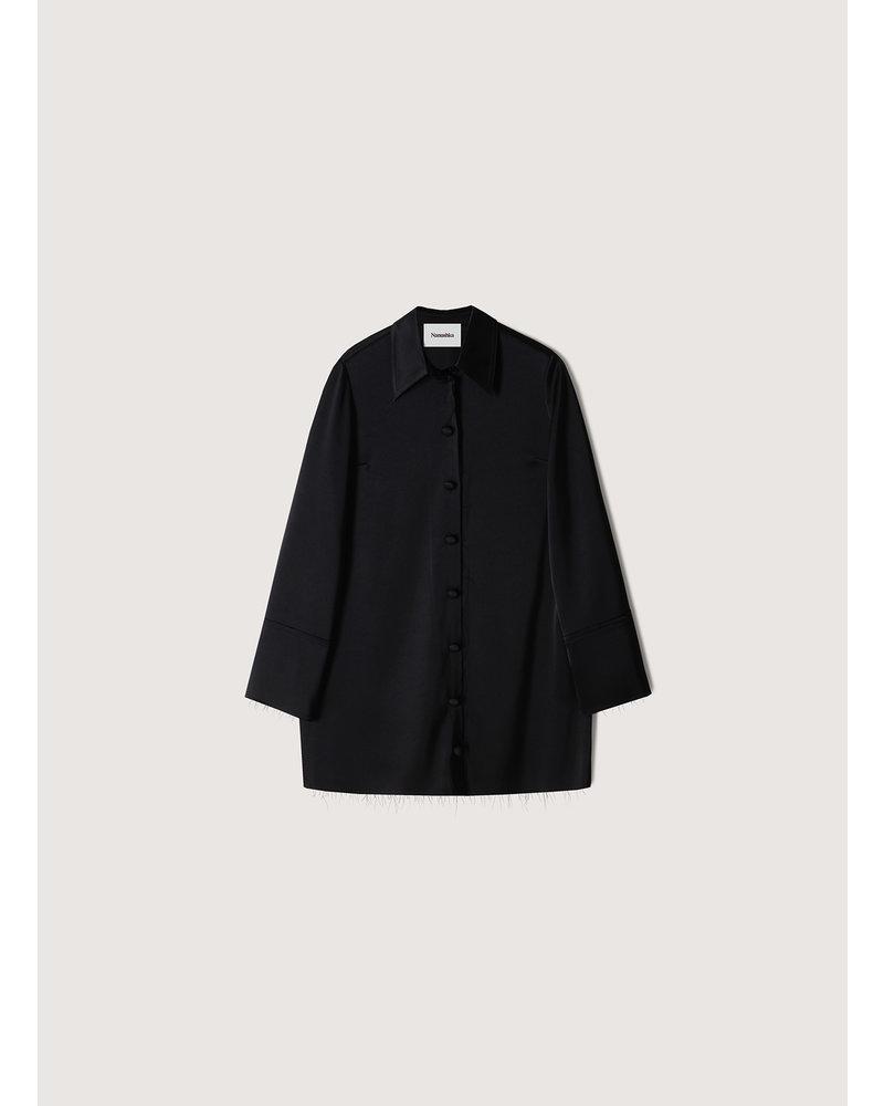 Nanushka Gabi shirt - Black