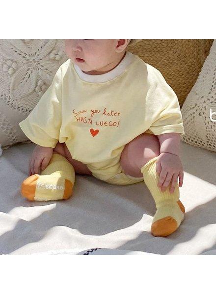 Bebe Nine Summer heart bodysuit - Yellow