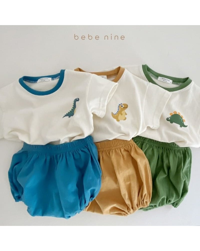 Bebe Nine Dinosaur set - Green