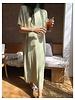 Blend Rib-linen dress