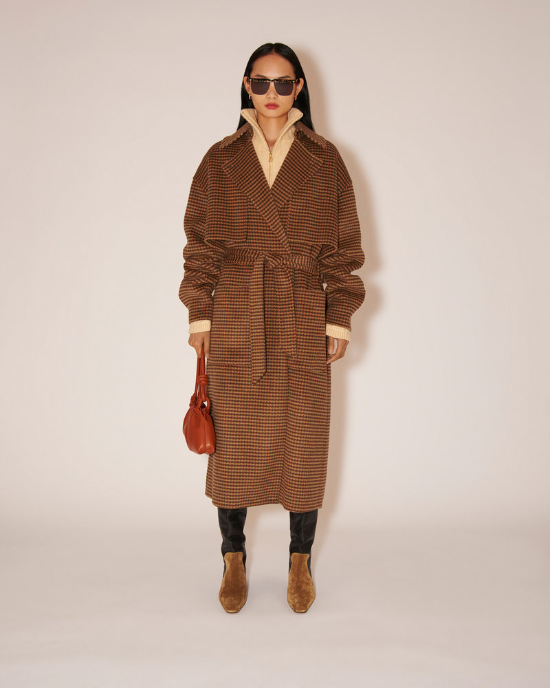 Nanushka Ara coat - Rust