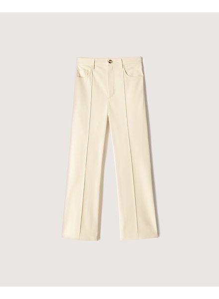 Nanushka Zoey pants - Vanilla