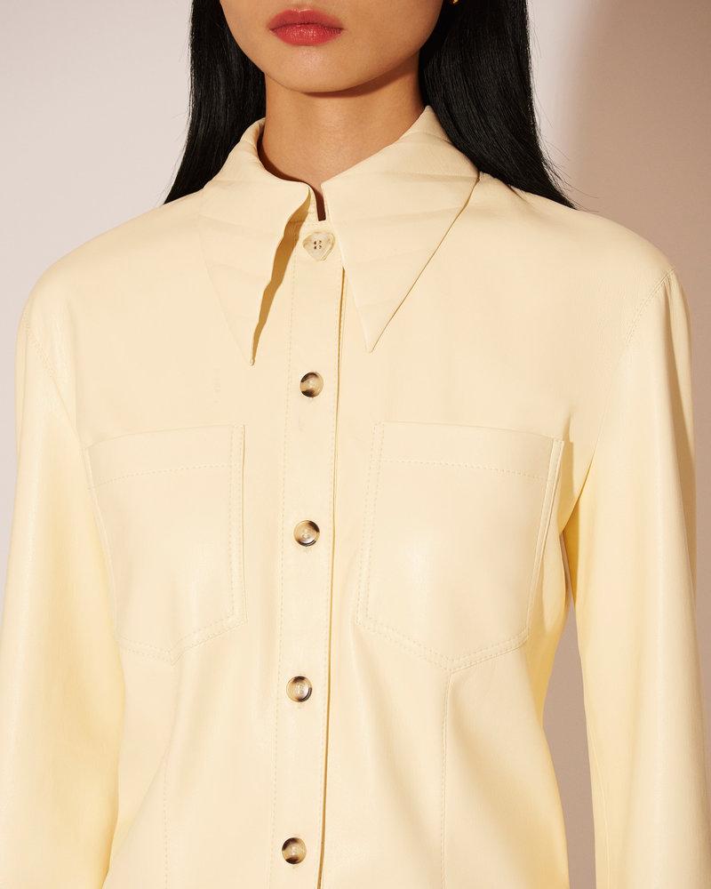 Nanushka Priya shirt - Vanilla