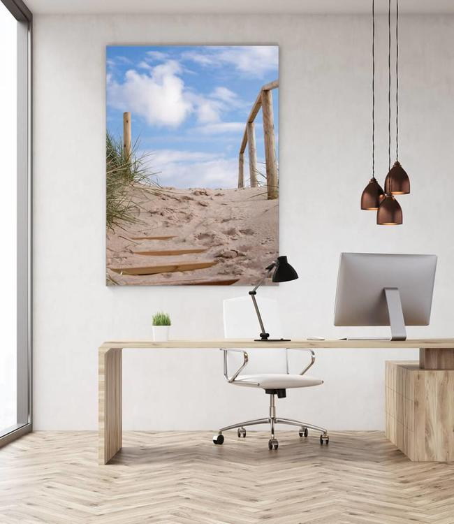"Sound absorbing panel ""To the beach"""