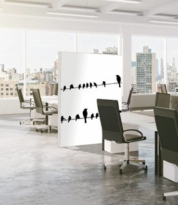 "Absorber room divider ""Birds"""