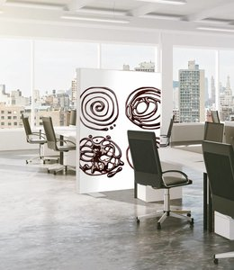 "Absorber room divider ""Circles"""