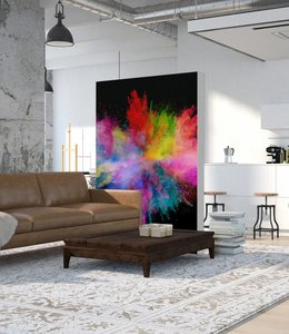 "Absorber room divider ""Colour explosion"""