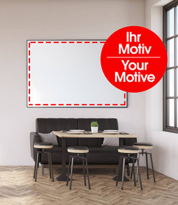 Sound absorbing panel with individual motive Sound absorber class B! - Copy