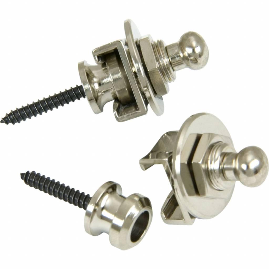 Security Straplocks 2/PK Nickel