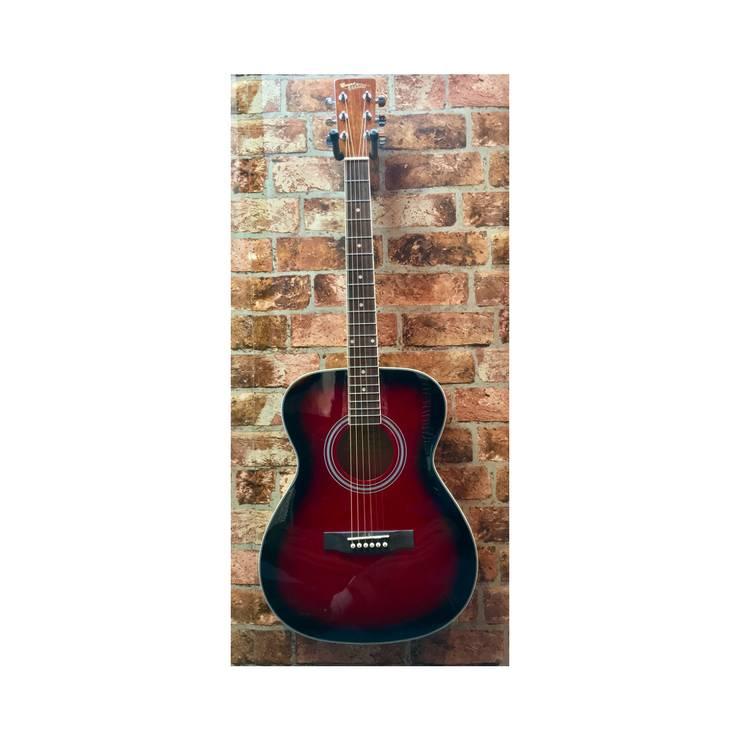 Countryman Countryman OM (Translucent Redburst) Acoustic Guitar
