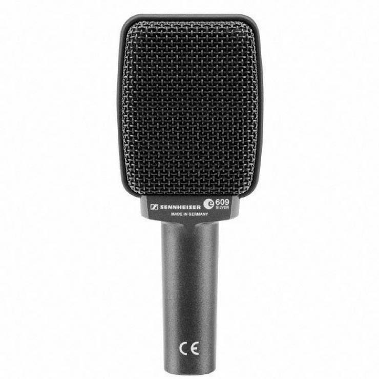 Sennheiser e 609 Silver Dynamic Instrument Microphone
