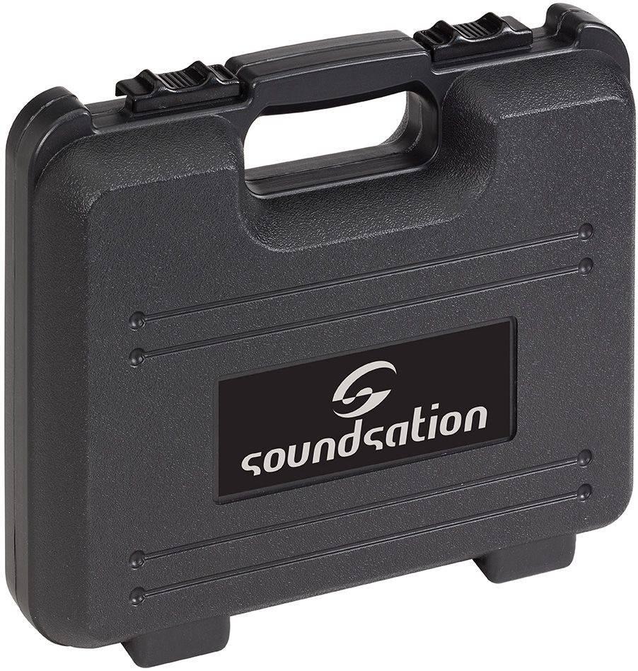 Soundsation L998L Voxtaker Condenser Mic with case, mount & Pop shield