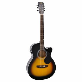 Soundsation MJCE-SB Electro acoustic guitar Sunburst