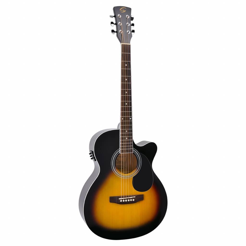 Soundsation L286L MJCE-SB Electro acoustic guitar Sunburst