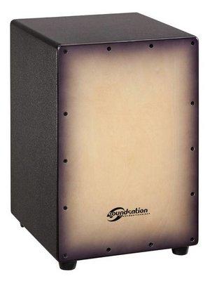 Soundsation SCAJ-25 Cajon Vintage Brown sunburst