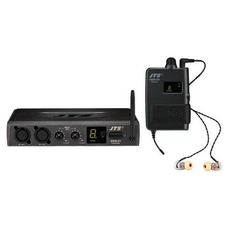 JTS UHF PLL Mono In Ear Monitoring System