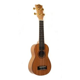 Snail Snail UKS-212E Mahogany Soprano Ukulele with Ebony finger board and bridge