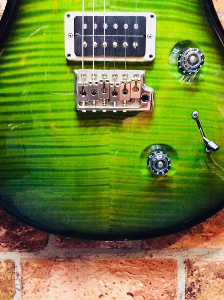 PRS Custom 24 2012 Green Burst