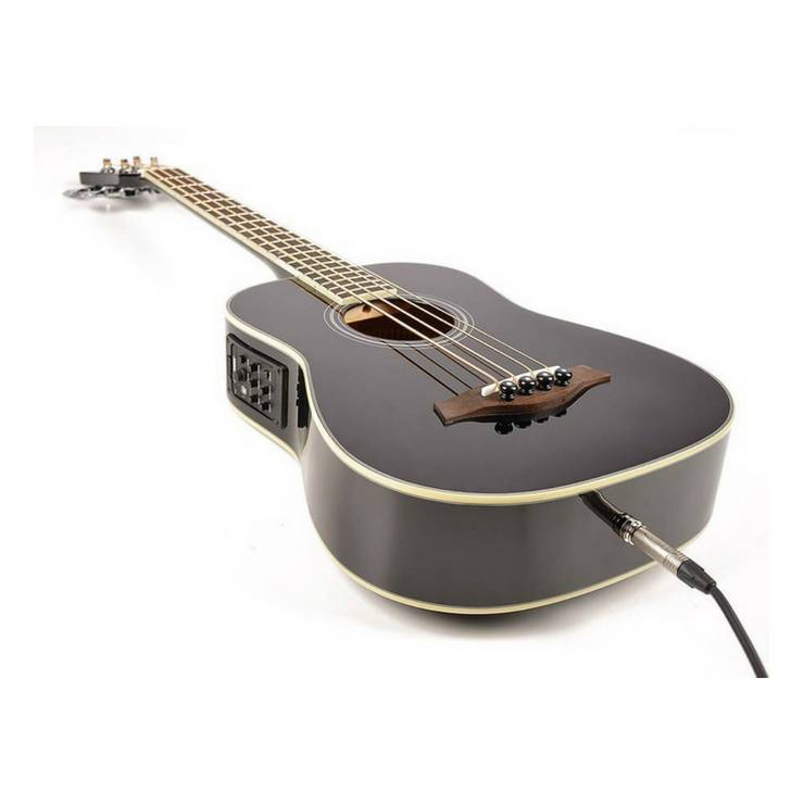 RICHWOOD RTB-80-BK Acoustic travel bass 620mm scale.