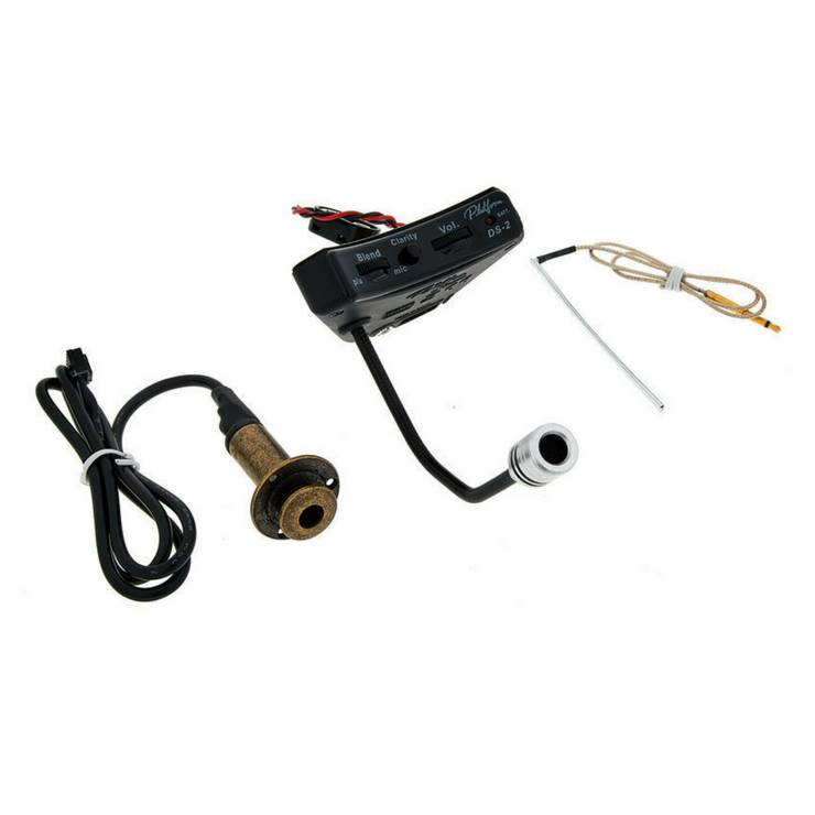 Crafter DS-2 Sound Hole Mount Pick up/pre amp system with Microphone