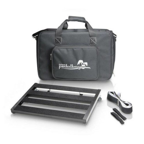 Palmer PEDALBAY40 effects pedal board with cover