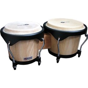 "Soundsation SB01-NT 6"" + 7"" BONGOS NATURAL"
