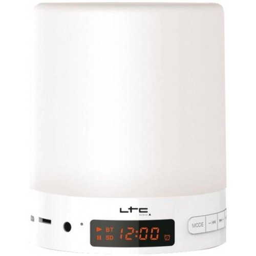 IBIZA BT-WAKEUP Smart alarm clock with touch lamp and bluetooth