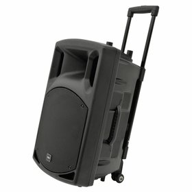 Portable Battery Powered Speaker with 2 radio mics and stand