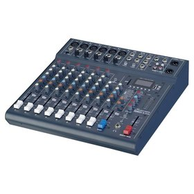 Studiomaster 10 Channel Mixer with FX & MP3 player and built-in Bluetooth