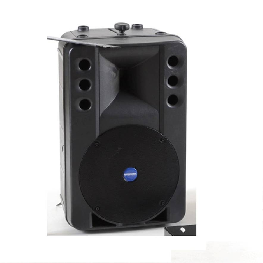 """12"""" 300W Active PA Speaker with stand and lead"""