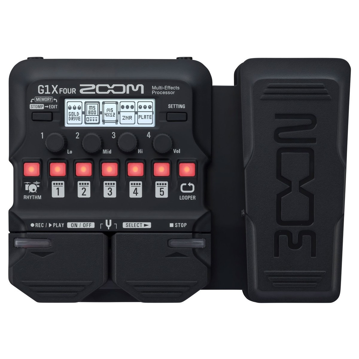 Zoom Zoom G1X FOUR Multi Effects Processor