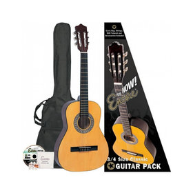 ENCORE Encore 3/4 Classical Guitar Pack