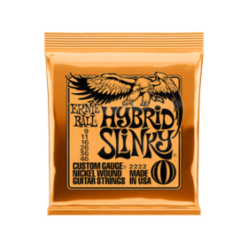 Ernie Ball Ernie Ball Hybrid Slinky 9-46 Nickel Wound String Set