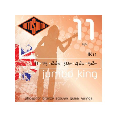 Rotosound Rotosound Jumbo King JK11 Light 11-52 Phosphor Bronze Acoustic Guitar Strings