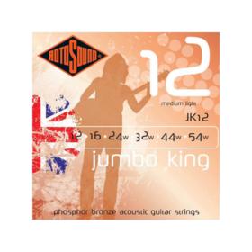 Rotosound Rotosound Jumbo King JK12 Medium Light 12-54 Phosphor Bronze Acoustic Guitar Strings