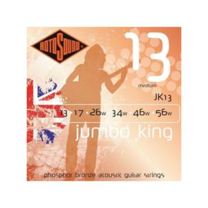 Rotosound Rotosound Jumbo King JK13 Medium 13-56 Phosphor Bronze Acoustic Guitar Strings