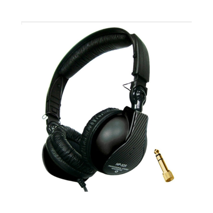 JTS JTS HP-525 Professional Studio & DJ Headphones (Black)