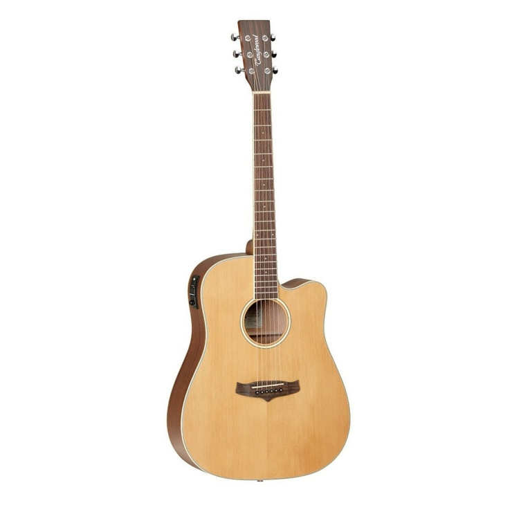 Tanglewood Tanglewood TW10 Dreadnought Cutaway Electro Acoustic Guitar, Natural