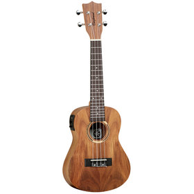 Tanglewood Tanglewood TWT-8-E Concert Ukulele All Koa Arched Back with Bag