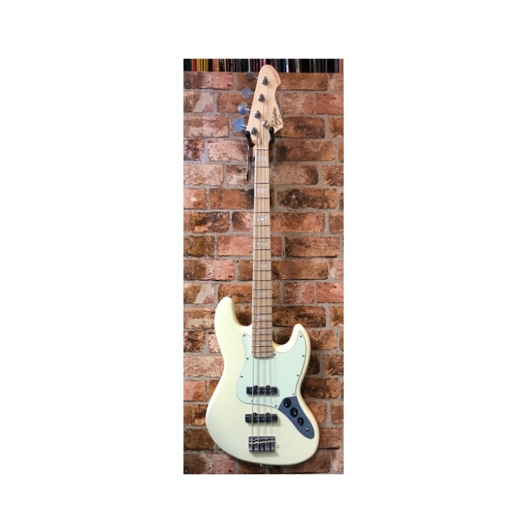 Revelation Revelation RBJ-67 Jazz Bass (Vintage White)