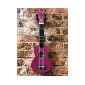 Stagg Stagg Soprano Ukelele With Bag (Violet)