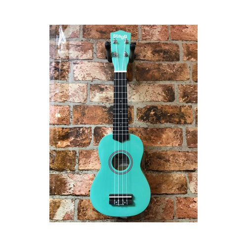 Stagg Stagg Soprano Ukelele With Bag (Grass)
