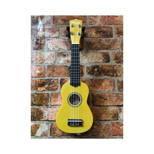 Stagg Stagg Soprano Ukelele With Bag (Lemon)
