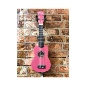 Stagg Stagg Soprano Ukelele With Bag (Lips)