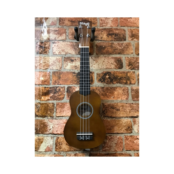 Stagg Stagg Soprano Ukelele With Bag (Natural)