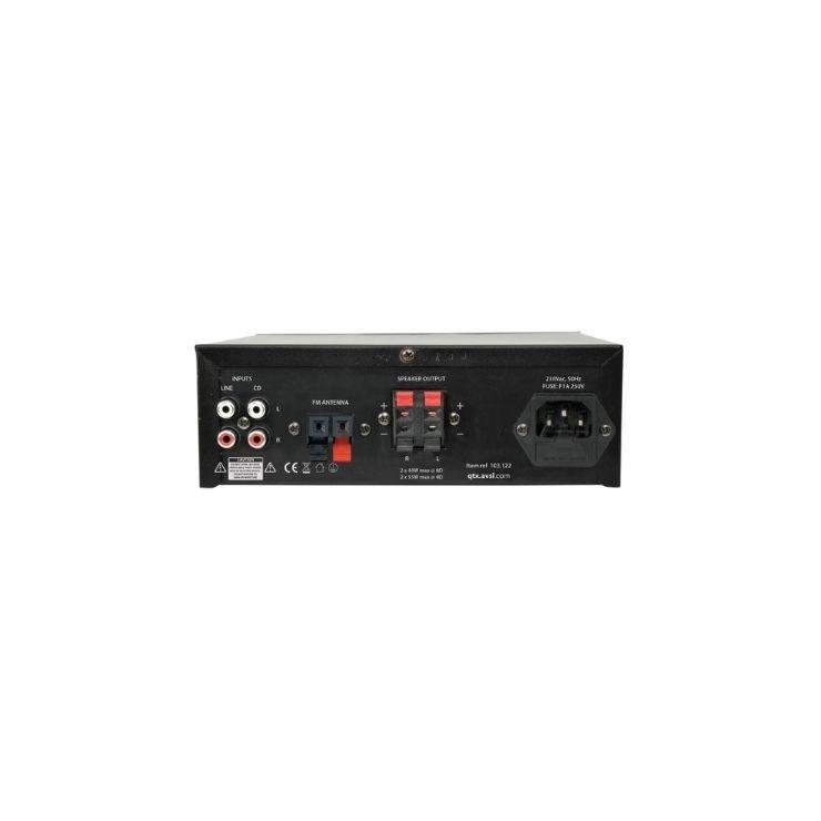 qtx QTX Digital Stereo Amplifier with Bluetooth (KAD 2BT)