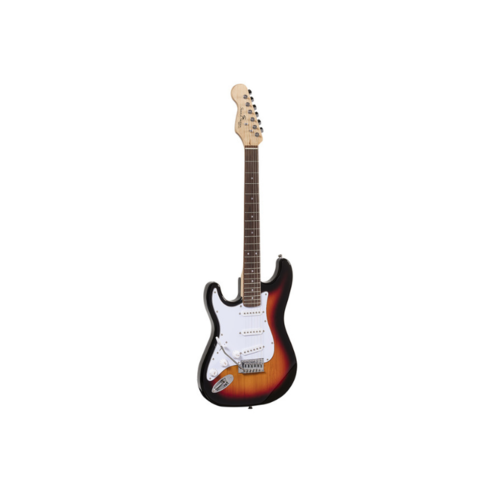 Soundsation Soundsation Rider Left Handed Electric Guitar STD-SLH 3TS